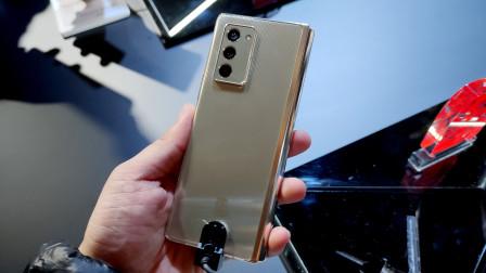 三星W21 5G上手体验:19999元的手机长啥样?