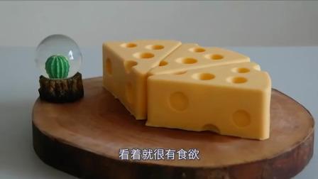 创意美食:你以为是猫和老鼠里的奶酪,其实是个蛋糕