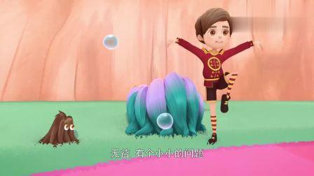 芭比之梦境奇遇记:选手们开始泡泡之旅,谁在不破坏泡泡下通过呢