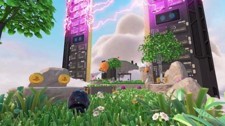 【游民星空】PS5《宇航员的娱乐室》实机预告