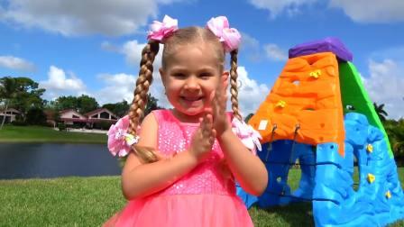 美国儿童时尚,小萝莉制作桑葚冰淇淋 哥哥吃了一口就不吃了