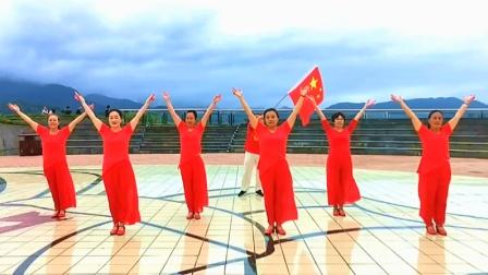 美久舞蹈学跳大赛~获奖作品 雨露青青广场舞《和谐中国》