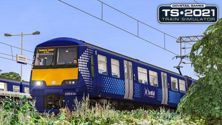 TS2021 格拉斯哥西北郊 #3:离开格拉斯哥市区 提早到达邓巴顿站 | Train Simulator 2021