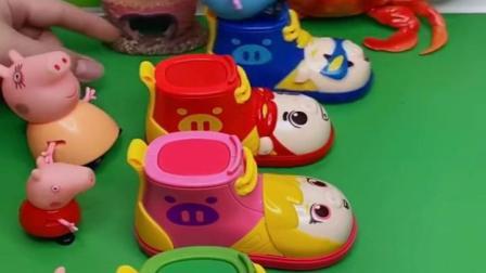小猪佩奇玩具视频