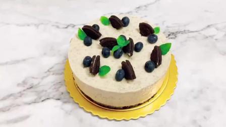 拯救新手的免烤美味蛋糕奥利奥冻芝士蛋糕