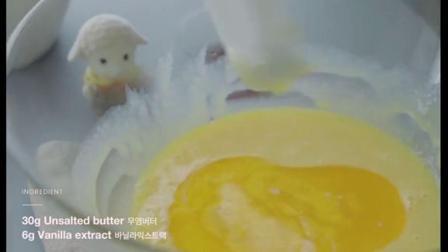 炼乳蒸蛋糕#烘焙#蒸蛋糕