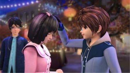 """叶罗丽第八季:建鹏对王默说的一句话,让她觉得""""甜""""到了心里!"""