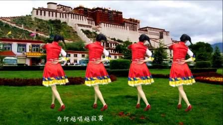 一首天籁《西藏情歌》配着入门广场舞,好听更是好学