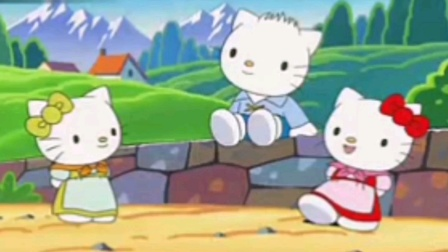 凯蒂猫Hello Kitty-格林童话故事-三只小猪