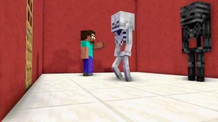 我的世界动画-怪物学院-魔法房间-Maltshake Animations