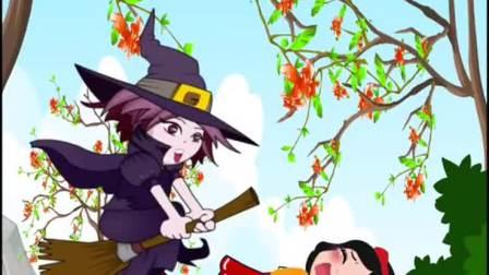 动画片童话故事元气班小朋友们快点击小红心发送666救救白雪吧