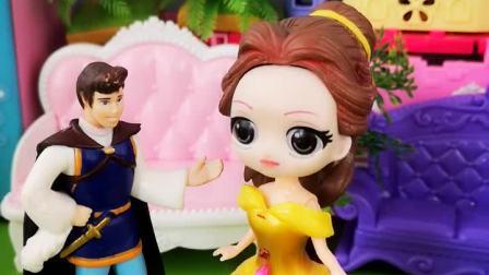 白雪明明是为公主,怎么就变成清洁小妹啦?
