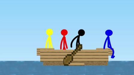 我的世界动画-火柴人学院-章鱼挑战-Sticktoon