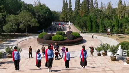 参观上饶集中营革命纪念馆