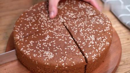 红糖枣泥糕:详细的家庭做法,蓬松不塌陷,比大米发糕更简单!