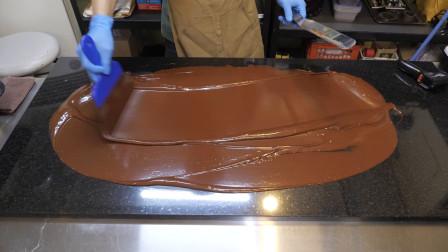 韩国大师现做现卖的手工巧克力,做法好好玩