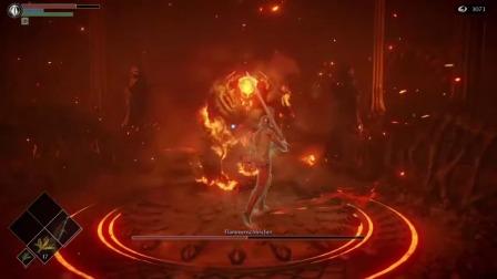 《恶魔之魂 重制版》火焰潜伏者BOSS战