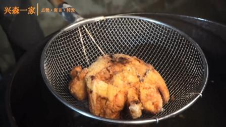 韩国兴森一家三口:爸爸首次分享制作炸鸡的全过程,原来炸鸡是这样做出来的!