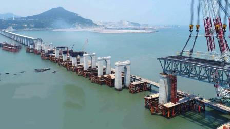跨海大桥的桥墩是怎么打入海底的?动画演示沉井法,看完长知识了