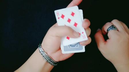 扑克入门基本功,纸牌基础手法,阿麟魔术牌技教学