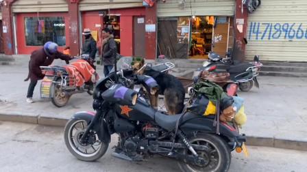 摩托车保险丝烧坏3天了,今天到达班戈县,看看能不能换到配件