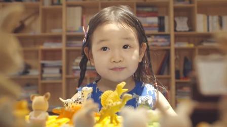 乖巧爱杨崩溃大哭,孩子的快乐很简单