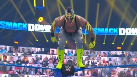 WWE SD1108期-中文原声:墨菲背叛赛斯助神秘人619逆袭