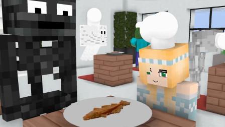 我的世界动画-怪物学院-小小美食家-Casper Craft