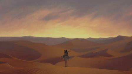 埃及王子:摩西王子带着女子,慢慢的消失在人群中,他们走了