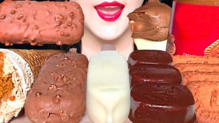 爽口的冰淇凌,遇到焦糖饼干,激发深层美味