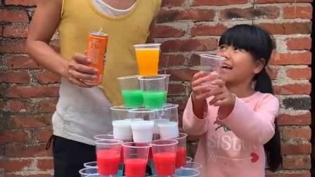 童年趣味:好看的饮料