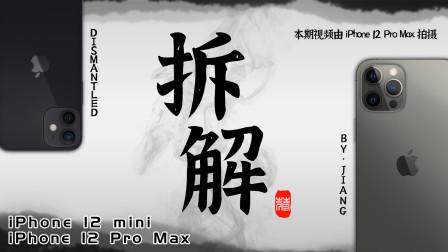【拆解】iPhone 12 Pro Max&iPhone 12 mini