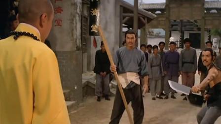 少林英雄榜:磨刀的和卖肉的大战,至善收服童千斤二人,精彩