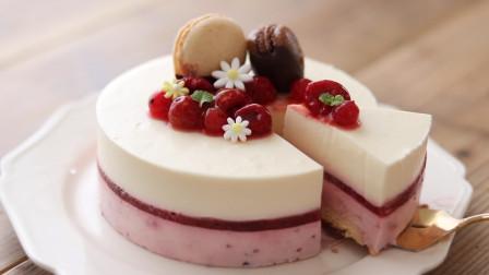 日本人到底有多精致?看这个水果芝士蛋糕就知道了,美味颜值高