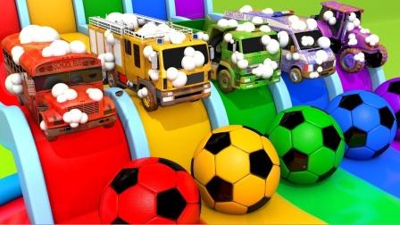 启蒙英语:和小汽车们一起学习