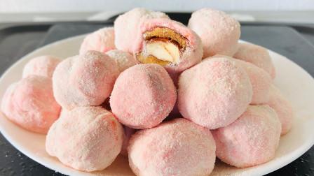 红枣不要直接吃了,加上棉花糖,教你做秘制奶枣,柔软香甜超好吃