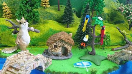 多比岛的动物园增加了新动物