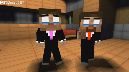我的世界动画-Herobrine双胞胎的往事-wayne craftz