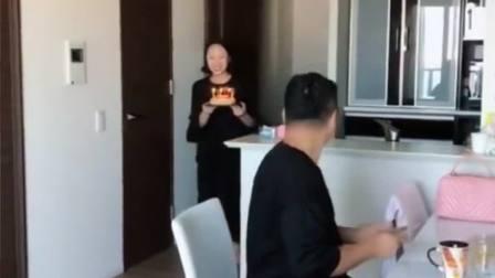 娶了个日本洋媳妇,亲手给我做生日蛋糕,上辈子积了多少德