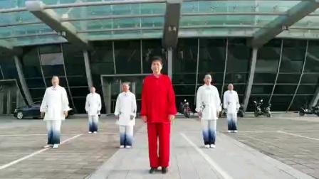 《梦太极》拳友习练24式太极春