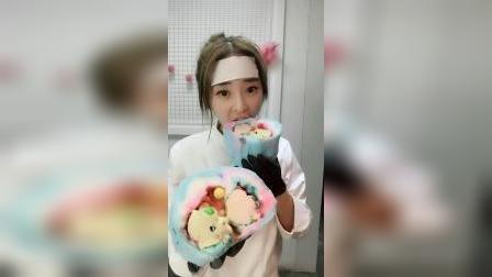 棉花糖蛋糕,真的超好吃
