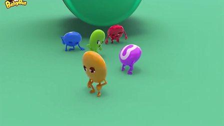 宝宝巴士-彩虹糖们看到玩具觉得很漂亮