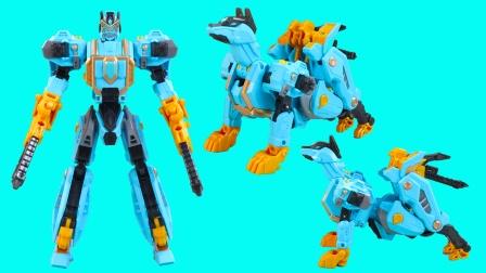 钢铁飞龙3月影奔狼机甲变形玩具