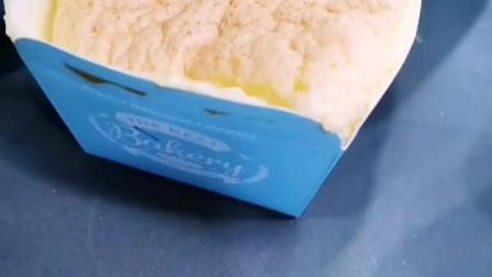 北海道戚风纸杯蛋糕,学员一口气吃了8个,还说以后开店就卖这个!