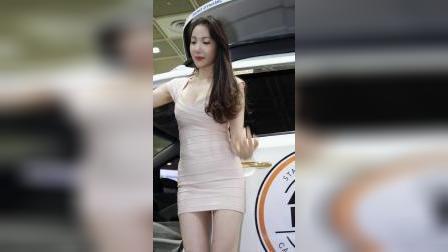 首尔车展#韩国气质美女模特