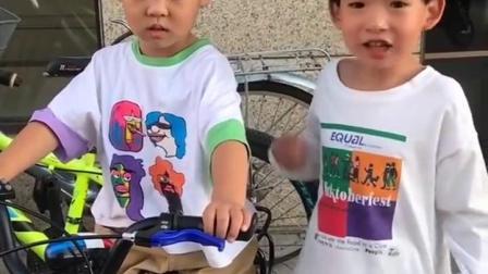 幸福童年:会哭的孩子有自行车玩