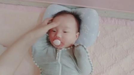 宝宝一放床就醒?妈妈用这一套方法做测试,测试结果让宝妈太开心