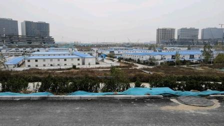 郑州北龙湖金融岛(建设中)2020年11月20日