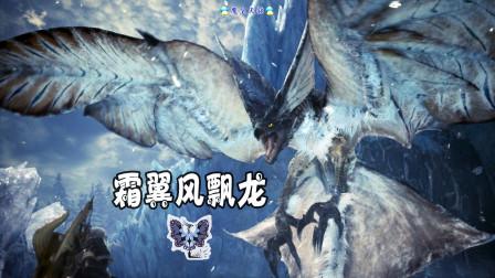 怪物猎人世界:冰原 天铭 16 刹那白雾,霜翼风飘龙!