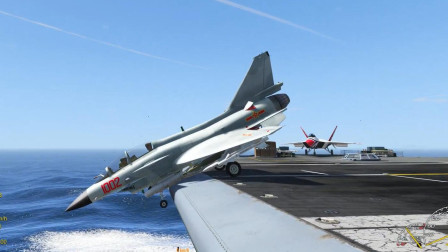 歼10战斗机在航母上的特殊技能